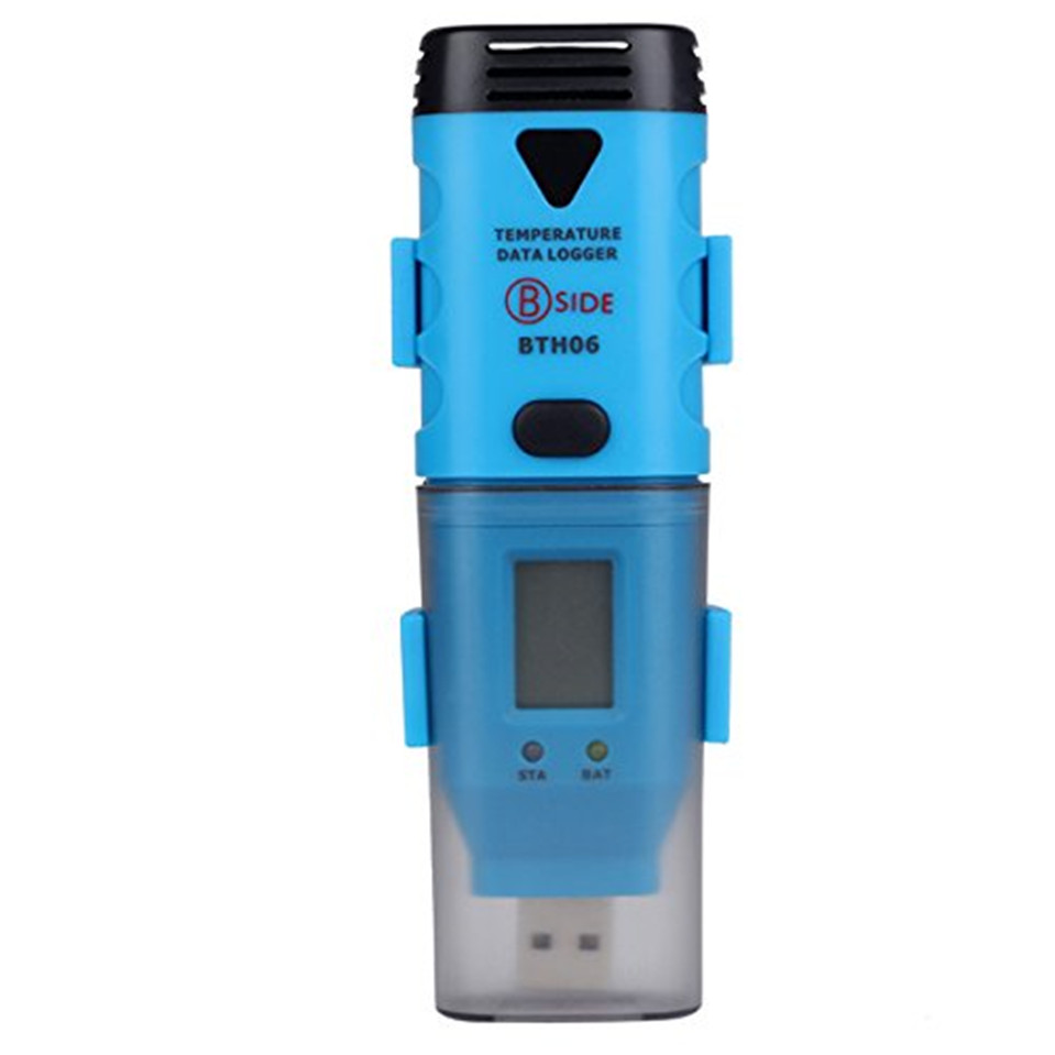 BSIDE BTH06 USB High Accuracy Temp Data Logger/Temperature Recorder/Temp Probe Outside/Record the Data in Real Time цена