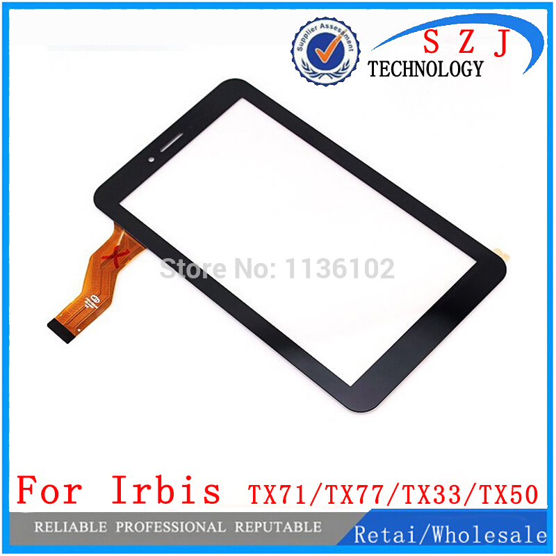 New 7'' Inch Irbis TX71/Irbis TX77/ Irbis TX33/ Irbis TX50/ Irbis TX55 Touch Screen Digitizer Glass Touch Panel Free Shipping