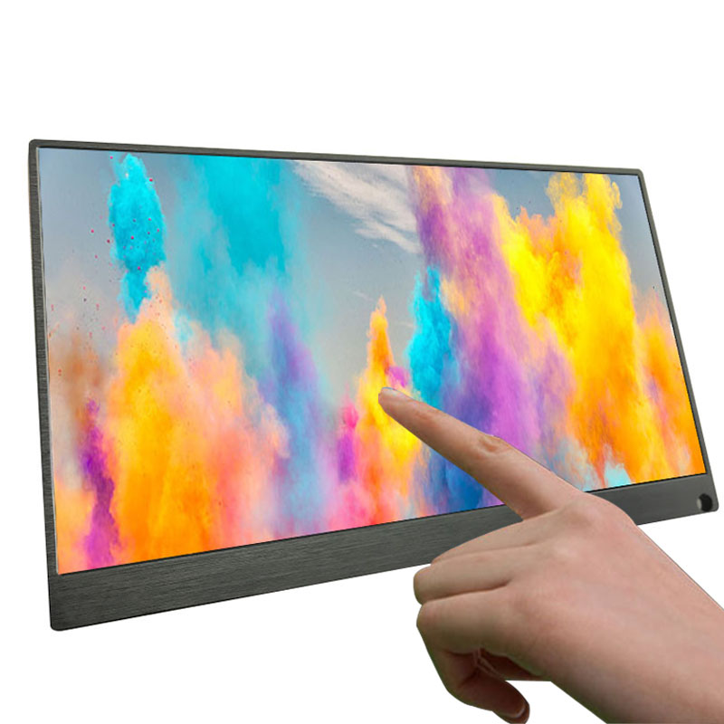 15.6 Inch Super Thin IPS Touch Screen For PS3 PS4 XBOX Car Use Portable Monitor For PC Laptop 1920 * 1080P HD LCD Screen monitor portátil hdmi ps4