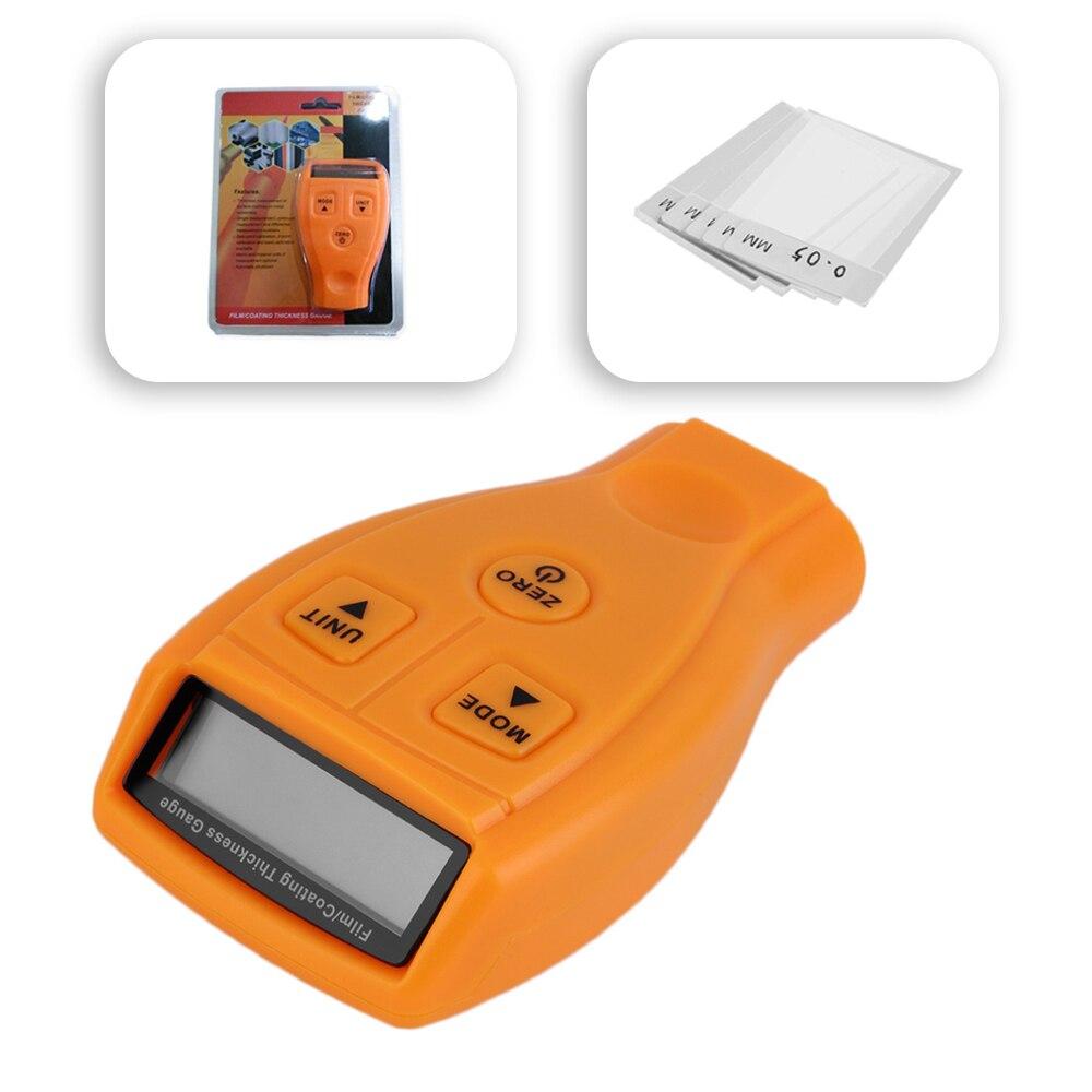 GM200 calibro di Spessore della Vernice Ferro Meter Automotive strumento Diagnostico Ad Ultrasuoni rivelatore Auto Metro Pittura Rivestimento Manuale Digitale
