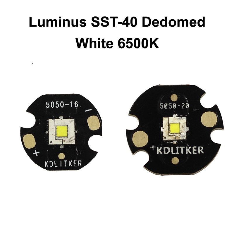 10W Luminus SST-50 SST50 Cool White//Neutral White//Warm White LED 3.4-3.7V 3-5A