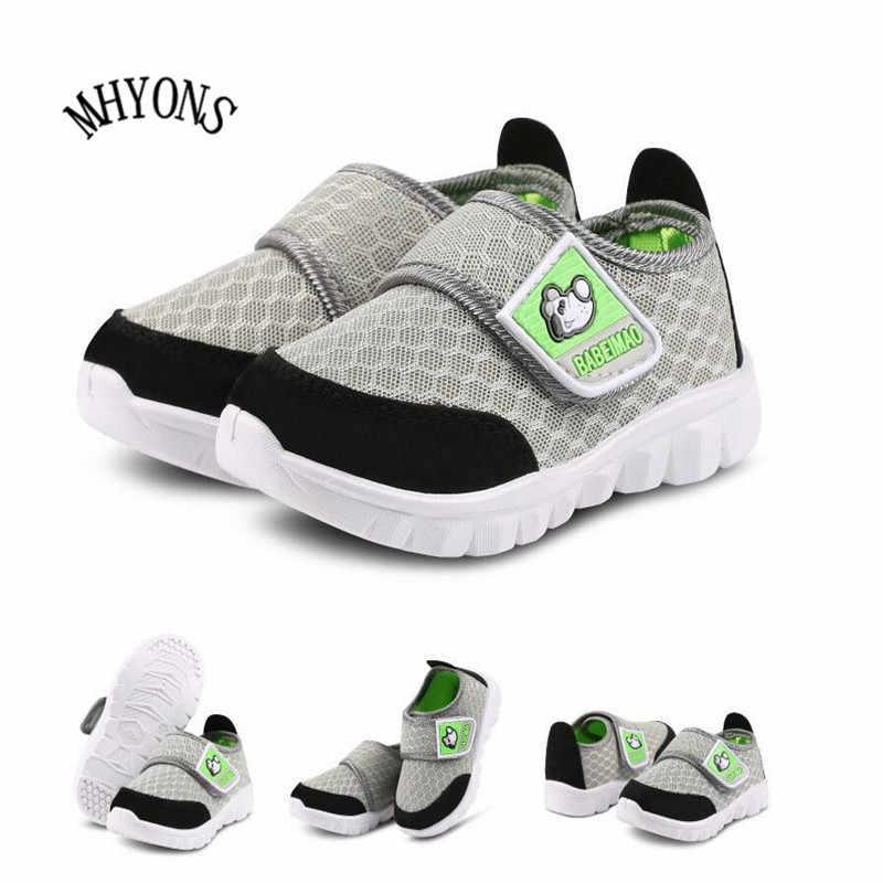 Sıcak Şerit moda Çocuk Ayakkabı Rahat kanvas ayakkabılar Kızlar Için eğitmen Erkek tenis Çocuklar Moda Daireler Rahat Bebek spor ayakkabı u
