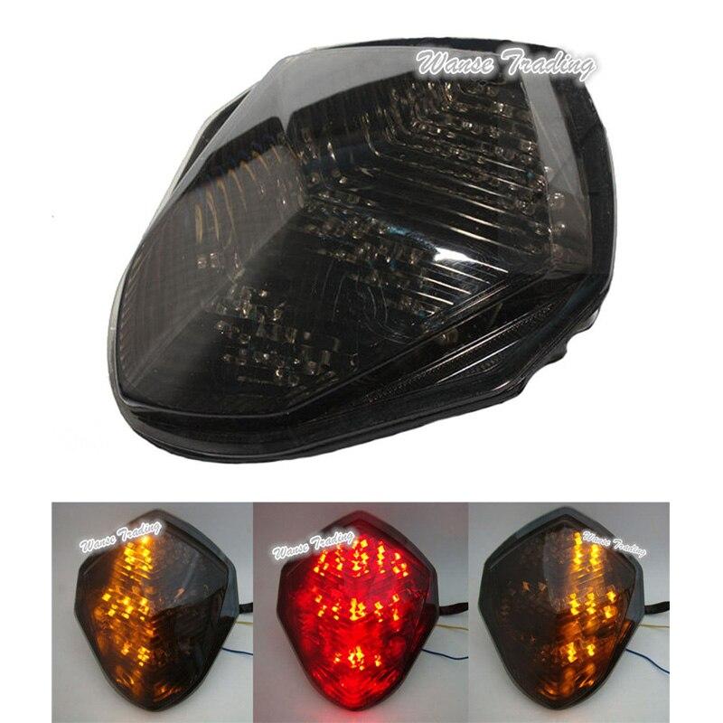 Tail Brake Turn Signals Integrated Light Clear For 2003-2004 Suzuki GSXR 1000 K3