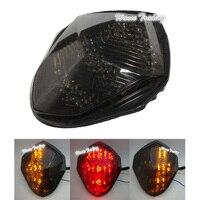 waase For Suzuki GSXR1000 GSXR 1000 K3 K4 2003 2004 Rear Tail Light Brake Turn Signals Integrated LED Light
