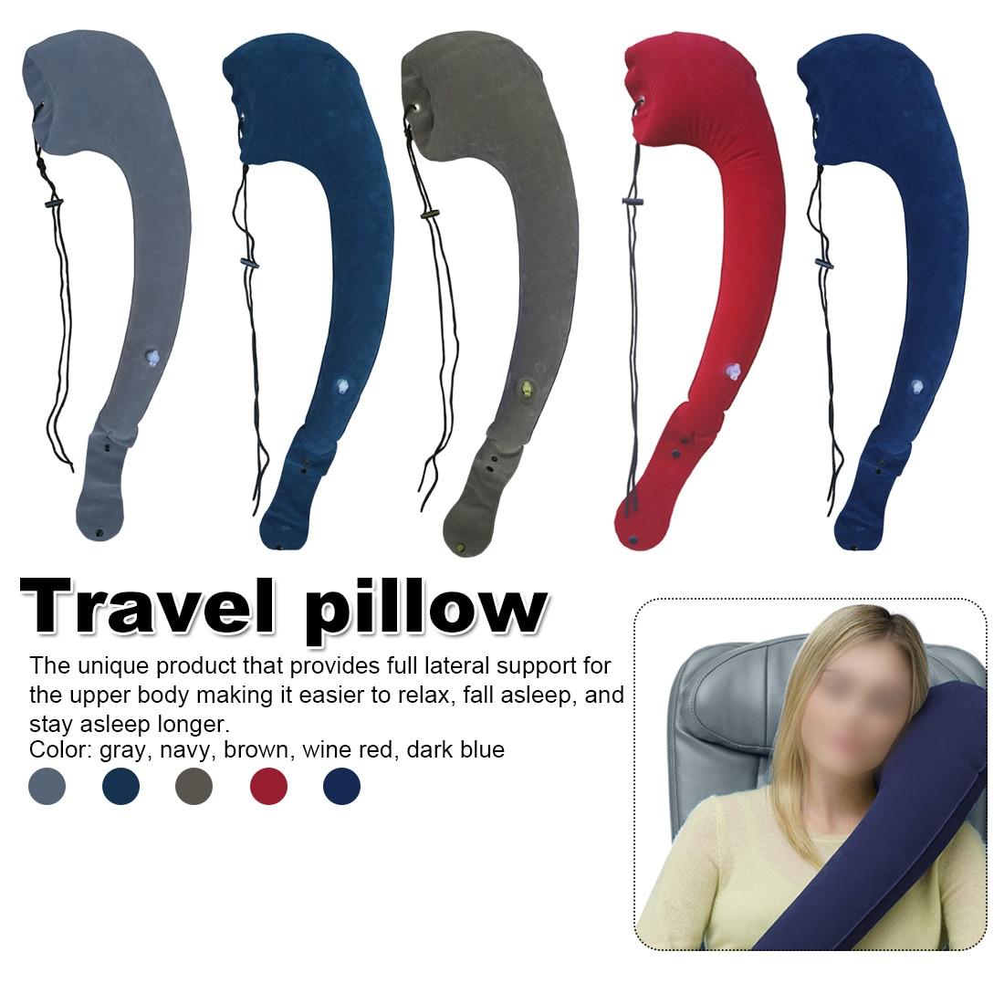 1pcs sleeping artifact Adjustable Washable Body Pillow Travel neck pillow Long-distance travel pillow(China)