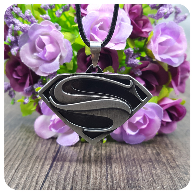 Superman Necklace