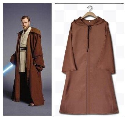New Darth Vader Terry Jedi Black Robe Star Wars Jedi Knight Hoodie Cloak Halloween Cosplay Costume Cape for Adult Men Women Kids