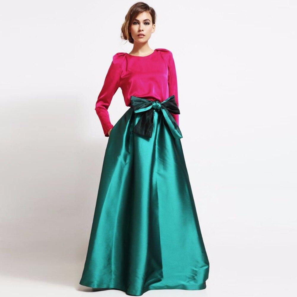 Popular Satin Long Puffy Skirt-Buy Cheap Satin Long Puffy Skirt ...