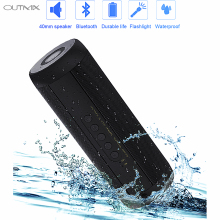 T2 Bluetooth Speaker Bass Waterproof Portable Outdoor LED Wireless Mini Column Box Speaker Support TF card FM Stereo Hi-Fi Box цена в Москве и Питере