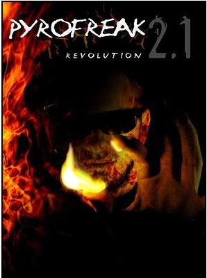 Pyrofreak 2.1 revolución - trick, magia de fuego mejor magia accesorio