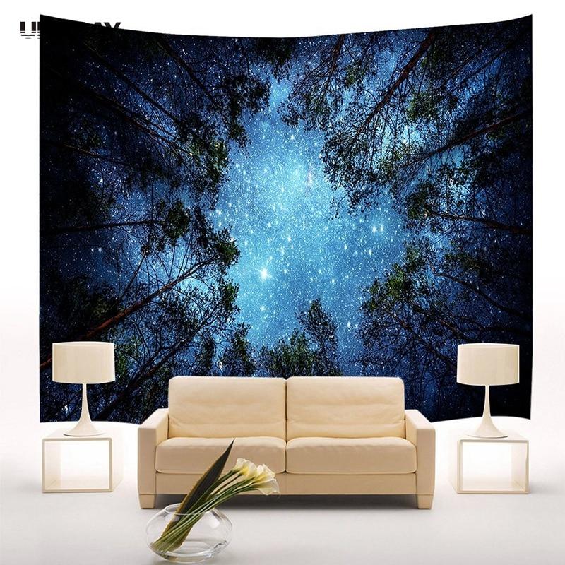 Mega Sale 285f Ufriday Belle Nuit Ciel Mur Tapisserie Mandala