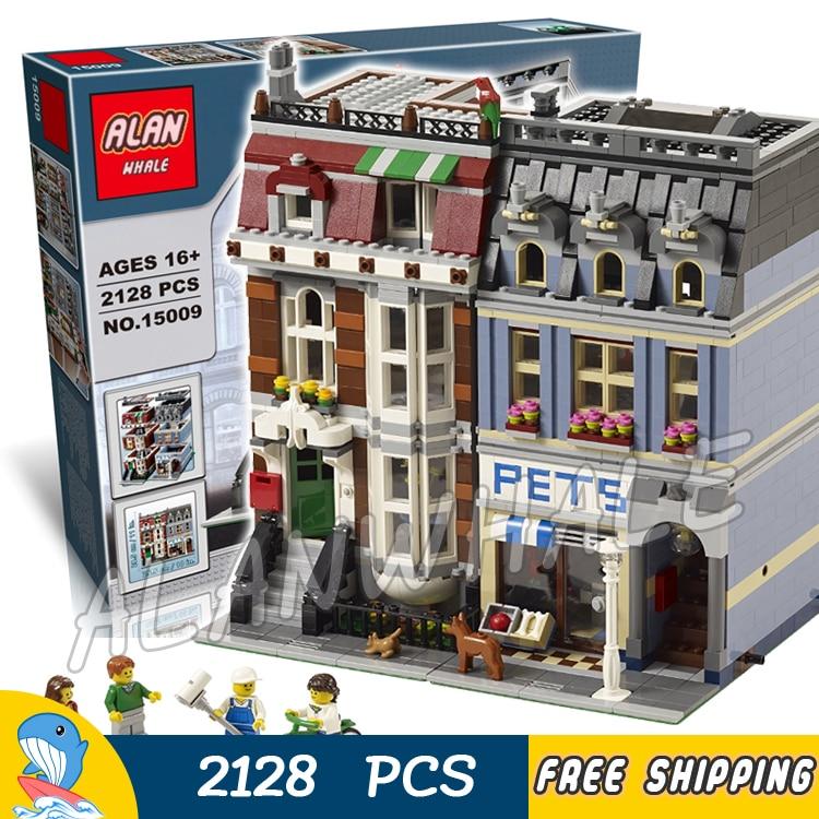 2128pcs Creator Expert Pet Shop Construct Collection DIY 30015 Model Building Blocks Asssemble Toys Bricks Compatible with Lego футболка destructo construct black