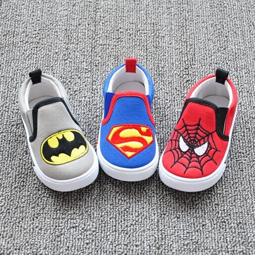 2019 New Supermen/Batman/Spaider/Thomas Train Baby Shoes Boy,Infantil Shoes Baby Walker,Kids Shoes For Girls Boys,Baby Boy Shoes