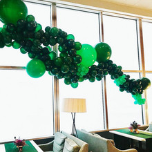 10pcs 5inch 12inch Green Color Thick Latex Balloons Christmas Decorations Balloons Green Birthday Party Balloon Arch Decor Balls