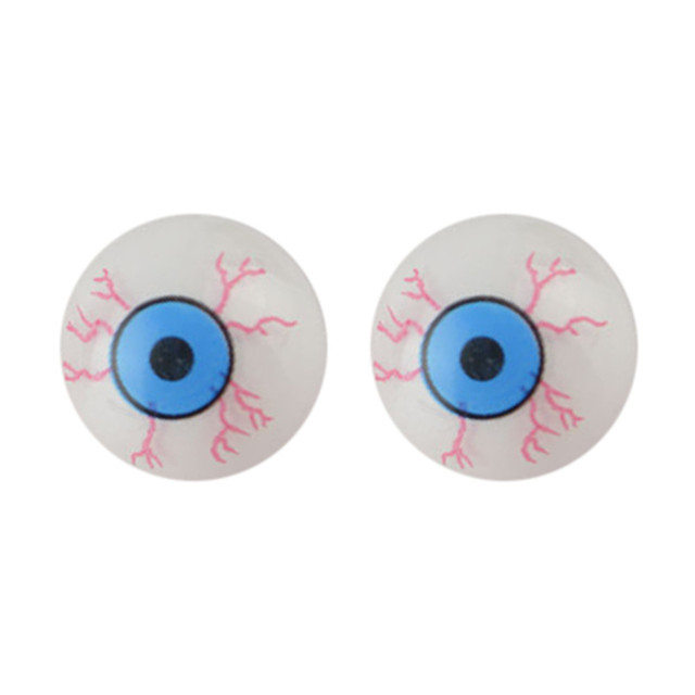 US $1 24  Halloween Eyeball Tamper Tools Horror Simulation Eyeball Fake  Eyeball Model Aduls Scary Toys Party DIY Decoration Supplies-in Party DIY