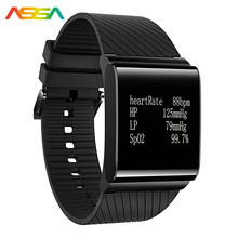 Sport Watches Men Watches X9 Plus 2017 Black Blood Pressure Monitoring OLED Watch Men Heart Rate Smart Watch Android & IOS Phone