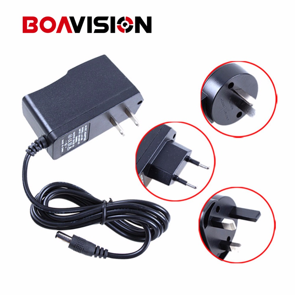 Qualified AC 110-240V To DC 12V 1A Switch Power Supply Adapter For CCTV,EU/US/UK/AU Plug ac 110 240v to dc 12v 1a power supply adapter for cctv hd security camera bullet ip cvi tvi ahd sdi cameras eu us uk au plug