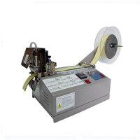 X 04HC Полный Автоматическая ленты для резки термоусадочная трубка/на молнии/эластичный пояс/полиэстер ленты резак машина холодная и горячие