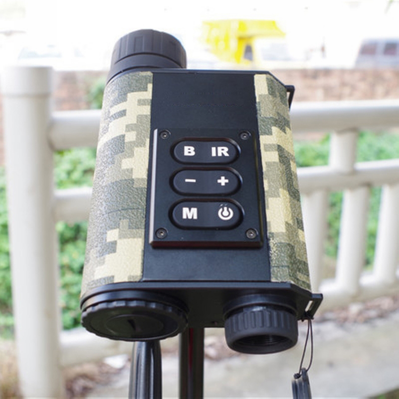 Multifunction Handheld Day And Night Rangefinder Military Hunting Digital Compass Night Vision Laser Scope Telescope night and day