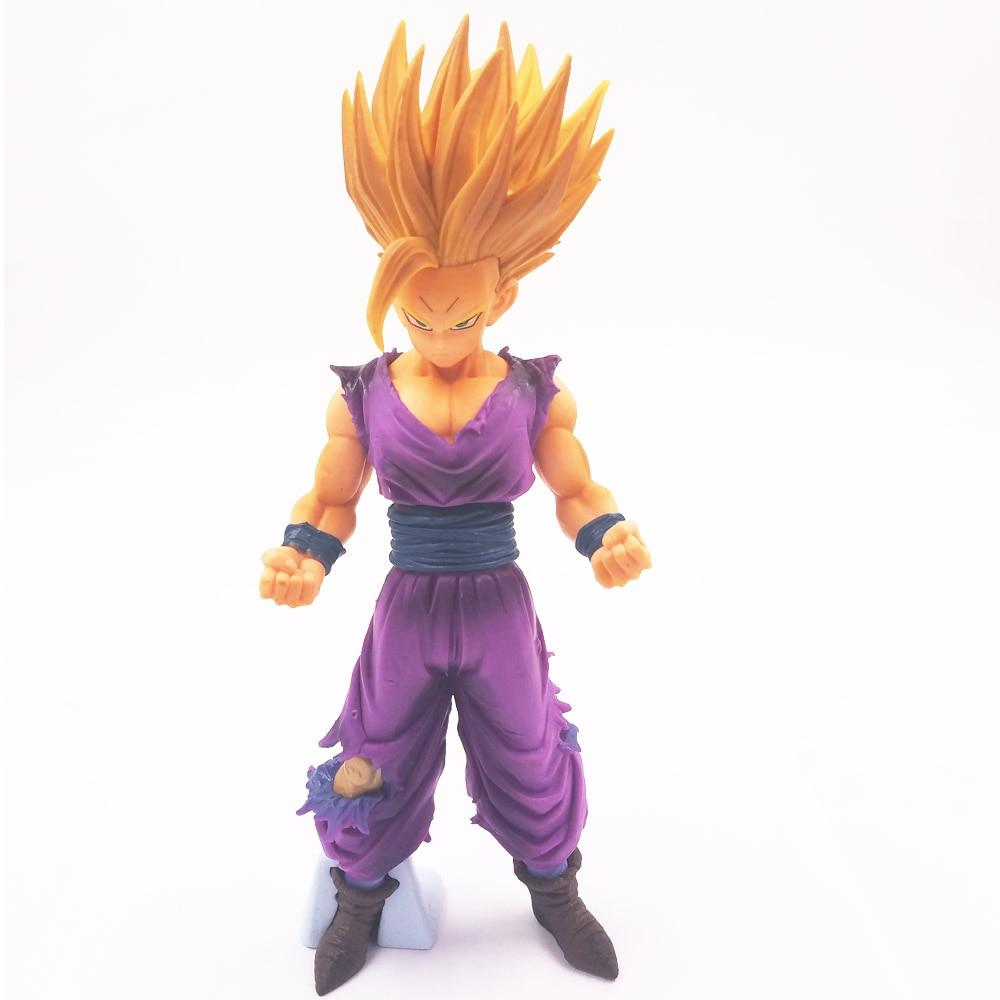 25cm Anime Dragon Ball Z Super Saiyan Son Gohan Action Figures Master Stars Piece Dragonball Figurine