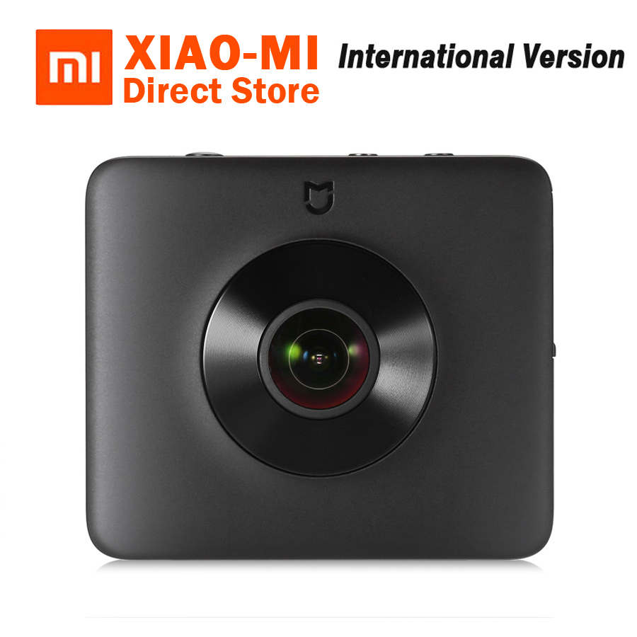 Globale Versione Xiaomi Norma Mijia Sfera 360 Panorama Registrazione Video Macchina Fotografica di Azione di 23.88MP Sensore Ambarella A12 3.5 K WiFi Bluetooth