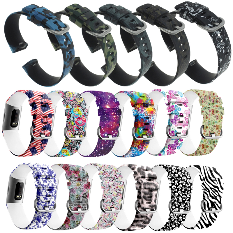 Fitness Bracelet Wrist For Fitbit Charge 3 Band Strap Smart Sports Watch Wriststrap Accessories For Fit Bit Charge 3 Wristbands