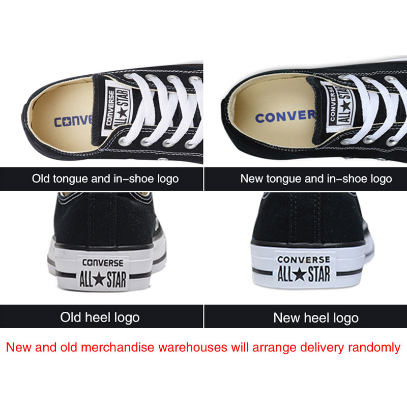 681760e276 US $40.79 49% OFF Authentic Converse ALL STAR Classic Breathable Canvas Low  Top Skateboarding Shoes Unisex Anti Slippery Sneakers for Young Men-in ...
