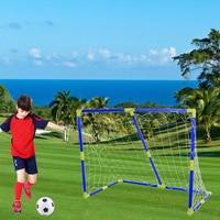 Portable Folding Detachable Kids Small Football Goal Soccer Door Outdoor Sports Toys Set for Kids