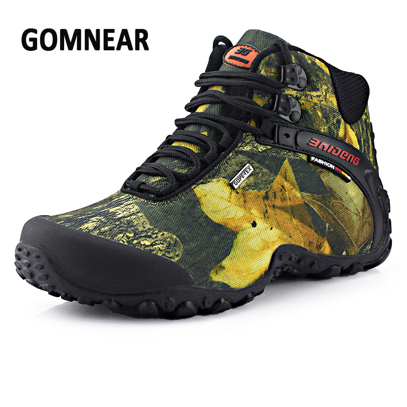 2017 Summer Men Waterproof Hiking Shoes Men Breathable Comfortable Sneakers  Anti-silpping Shoes Footwear Lightweight Free ship waterproof hiking shoes breathable men sneakers lace up anti slip outdoor travel walking sports shoes mans footwear xyd118