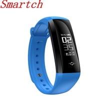 Smartch M2S Смарт Браслет крови Давление кислорода оксиметр сердечного ритма Bluetooth часы фитнес-трекер pedometerios/Android V