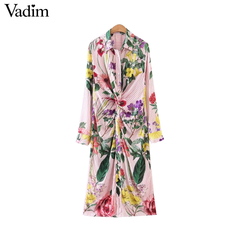 HTB1kNDNRXXXXXXdapXXq6xXFXXXC - Women vintage floral long sleeve turn down collar blouses casual