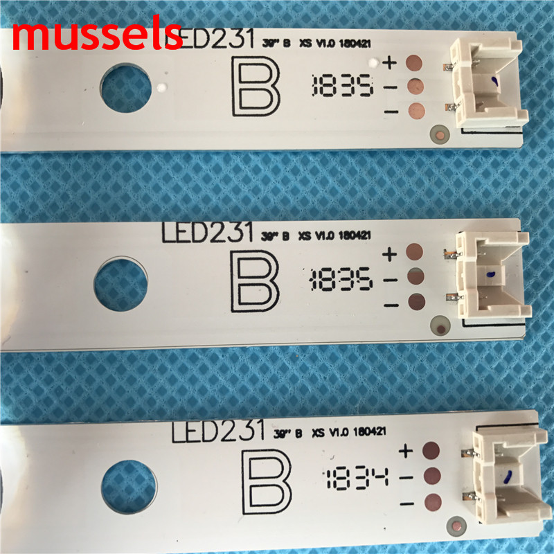 "For LG 39"" inch TV LED Backlight strip 8 Lamp LG 39LN5100 INNOTEK POLA2.0 39 39LN5300 39LA620S POLA 2.0 39LN5400 HC390DUN-VCFP1"