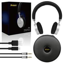 Shoot Wireless Bluetooth Headphone for iPhone Xiaomi lenovo meizu Phone built-in Microphone Xiomi headset DJ Music PK Bluedio t2
