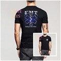 Salvar Uma Vida em um Tempo de EMT Paramédico Médico verão Estrela de Vida de Manga Curta Camiseta Bombeiro Bombeiros Resgatar O Pescoço camisas