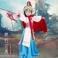 Hua Mu Lan Menina Cross-gênero Geral Traje Cosplay Hanfu Hanfu Traje para a Menina