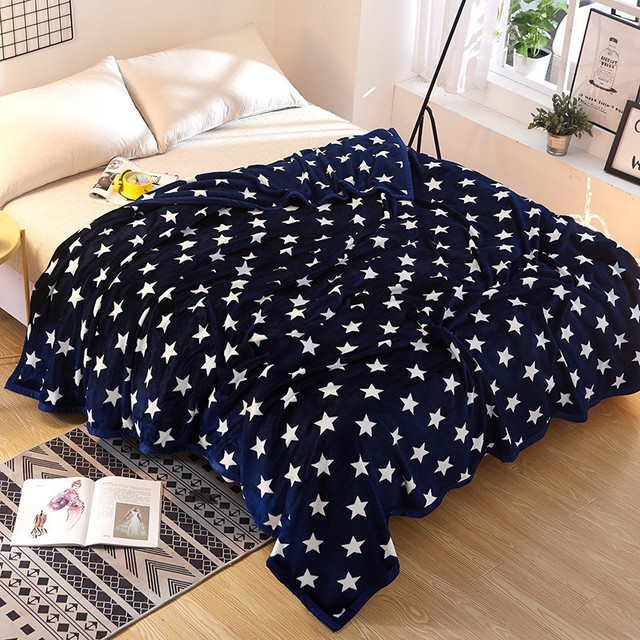 Large Size Different Color Sofa / Air / Bed Throw Solid Flannel Blanket Or  Winter Bed