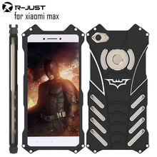 R-JUST batman for xiaomi max metal aluminum Shockproof Cover case xiaomi max Armor anti-knock phone cases