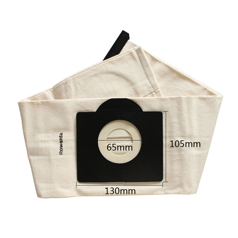 Vacuum Cleaner Bag,Washable Dust Bag replacement for   Rowenta,Karcher,HR6675,alaska,fakir,fif,wirbel,soteco,foma etc. vacuum cleaner bag washable dust bag for karcher nt351 nt361 nt65 2 nt75 2 nt80 1 vacuum cleaner parts karcher bags replacement