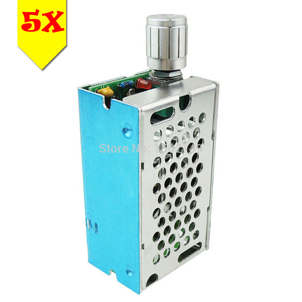 Unique Goods 5pcs/lot DC Motor Speed Controller Variable Speed ...