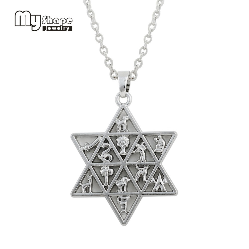 stainless in fashion pendant deals xuping thanksgiving for gifts simple shape steel star from jewelry neutral pendants necklace item