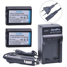 2pc NP-FW50 NP FW50 FW50 Li-ion Battery+Car Charger +EU AC For Sony A6000 NEX-7 NEX-5N NEX-F3 NEX-3D NEX-3DW NEX-3K NEX-5C 7R II