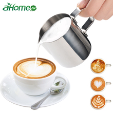 Stainless Steel Milk frothing jug Espresso Coffee Pitcher Barista Craft Mug Latte Frothing Jug 150ml