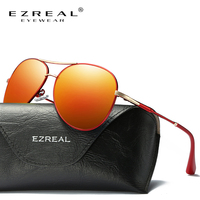 EZREAL Brand Women Sunglasses UV Polarized Round Glasses Fashion Summer Luxury High Quality Alloy Driving Oculos