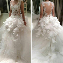 kejiadian Ball Gown Wedding Dresses Long Sleeve Bridal Gown