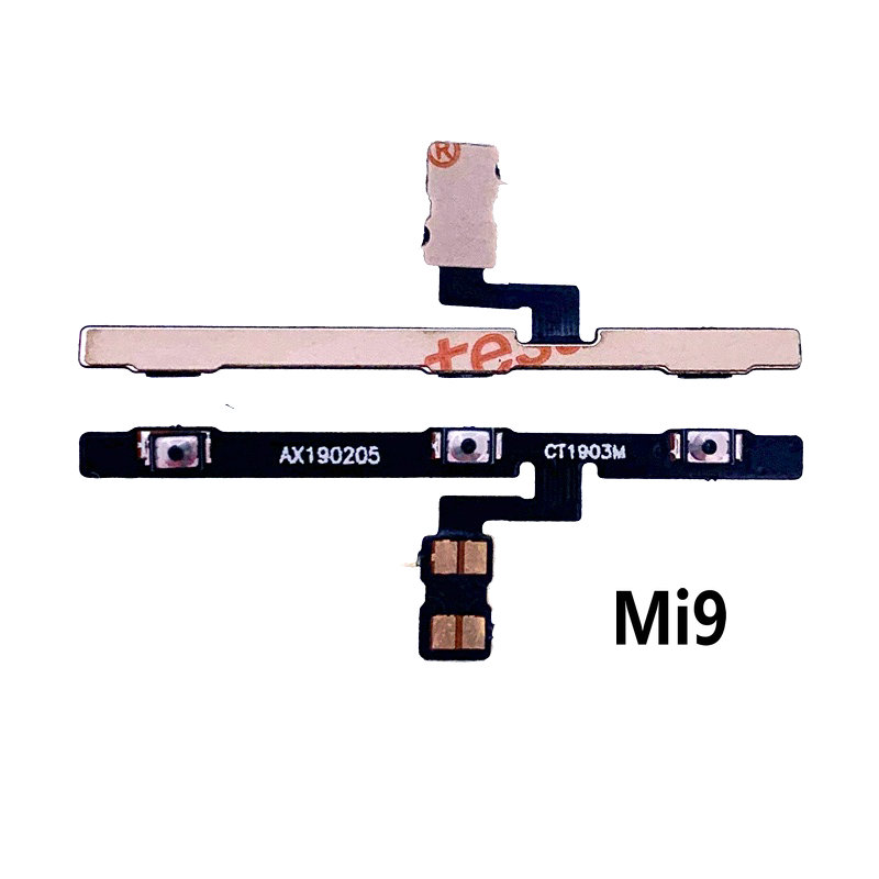 New Power On/off & Volume Up/down Buttons Flex Cable Replacement For Xiaomi Mi9 Mi9SE Phone