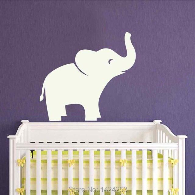 BATTOO Éléphant Sticker Mural Autocollant Jungle Safari Chambre Du0027enfants Garçon  Fille