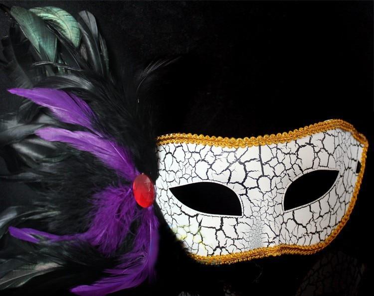 Gleaming Mask Assortment Masquerade Costumes LOT OF 12PC MARDI GRAS HALF MASKS