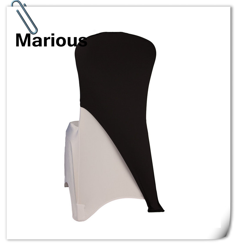 Marious 100pcs many colors Spandex Chair Cap 190gsm / chair hood for Wedding Party Colors Decorations Free Shipping