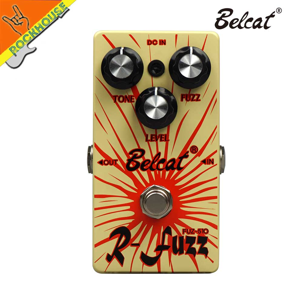 Belcate Fuzz Guitar Effects pedal Analog Fuzz Guitar Pedal Bass fuzz 60 s vintage MKIV MK2