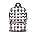 Индивидуальный школьный рюкзак с милым принтом мопса  Детские рюкзаки  школьные сумки для девочек-подростков  ранец  школьный рюкзак